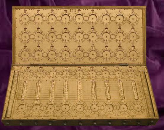 Calculadora de René Grillet