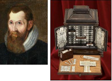John Napier o Neper y ábaco Promptuario