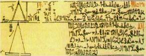 Papiro de Moscú (Vladímir Goleníshchev) hierática