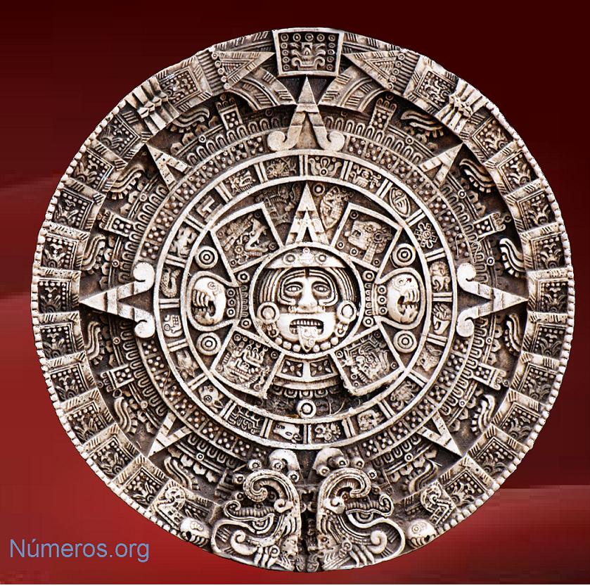 Tzolkin maya representando el tiempo