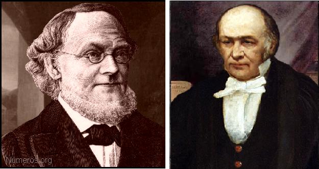 Herman Günther Grassmann William Rowan Hamilton